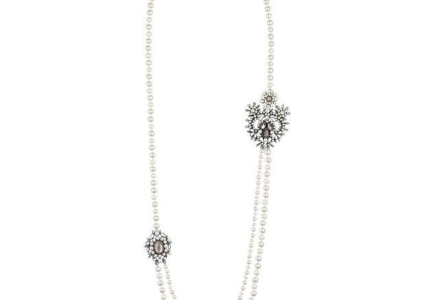 Sautoir de perles Chanel Métiers d'art Paris-Salzbourg 2014/2015