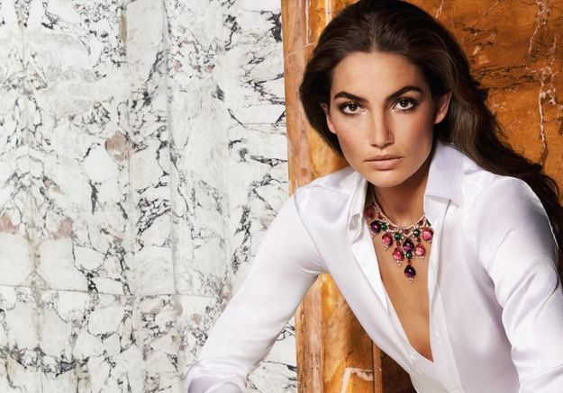 Lily Aldridge, nouvelle ambassadrice du joaillier Bulgari