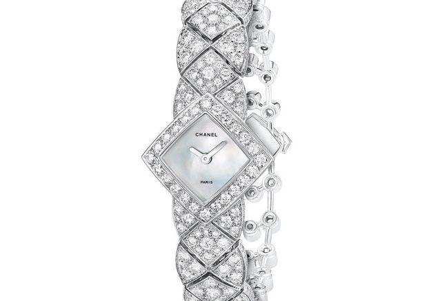 Montre bijoux Chanel Joaillerie