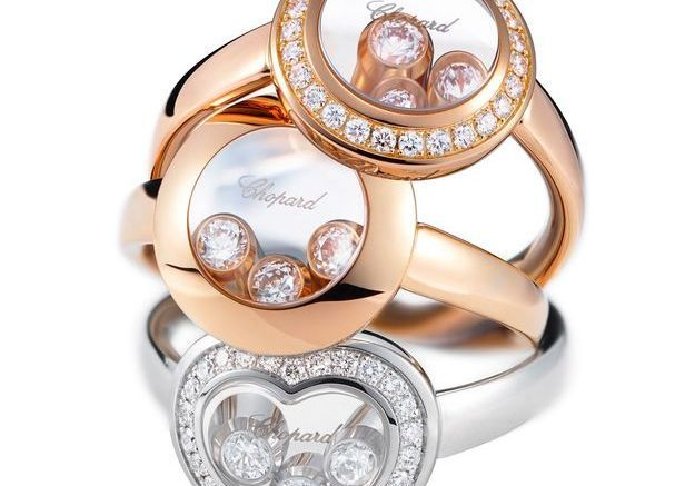Bagues Happy Curves Chopard