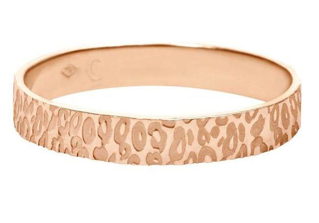 Bague léopard en or rose Charlet par Aime