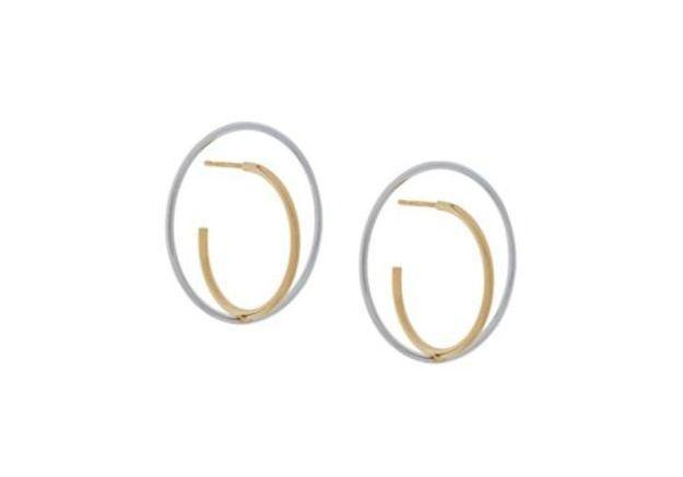 Boucles d'oreilles soldées Charlotte Chesnais