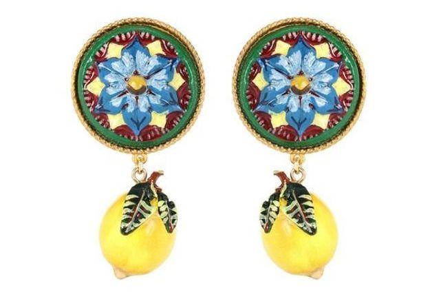 Boucles d'oreilles soldées Dolce & Gabbana