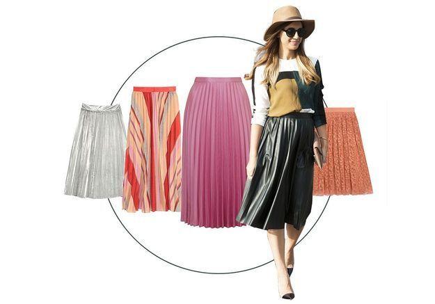 11 jupes plissé soleil pour attendre l'été