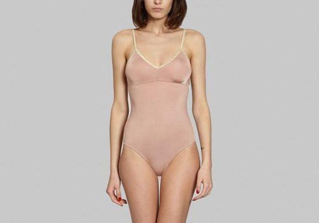 Lingerie d'été, body nude, Kohl's