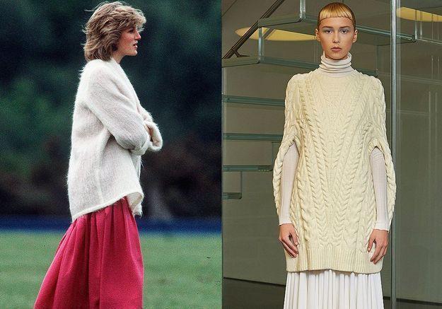 Le gros pull en laine