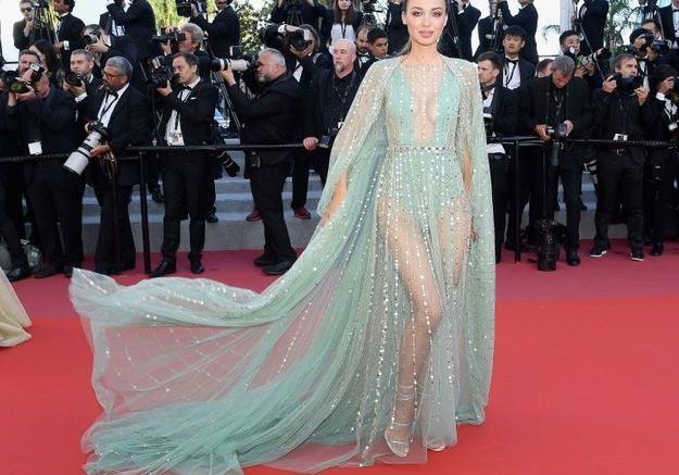 La robe Georges Hobeika de Lara Leito