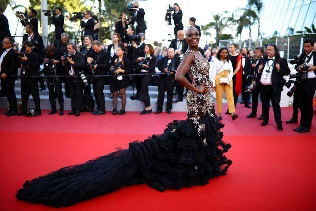 La robe de Miriam Odemba
