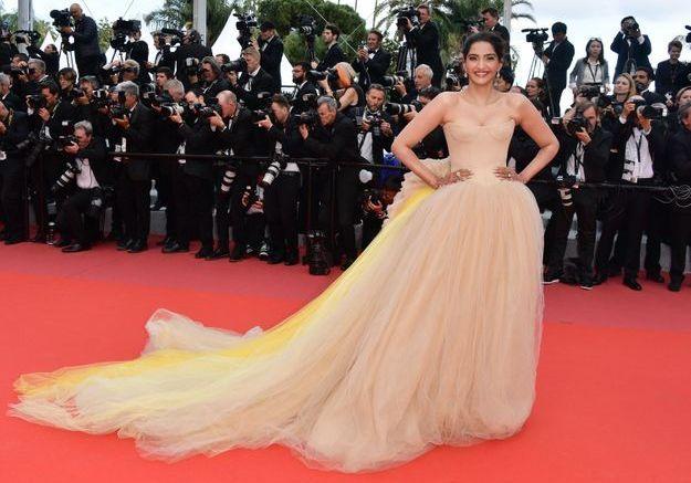 La robe de Soonam Kapoor