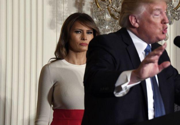 Comment Melania Trump utilise ses looks pour nuire à la politique de son mari