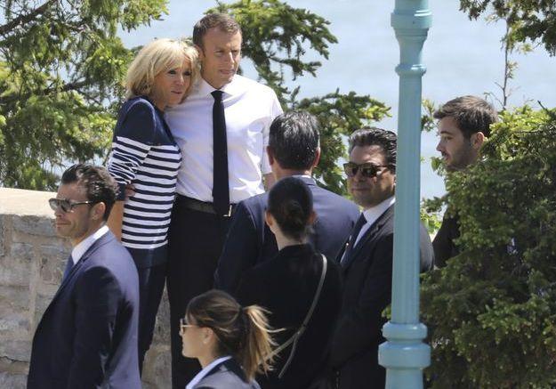 Les looks de Brigitte Macron au Canada