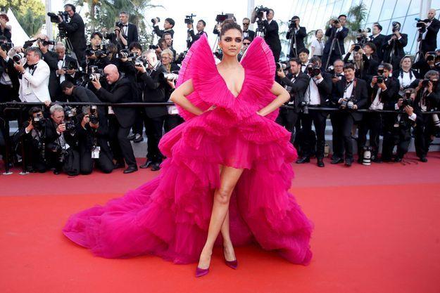 Deepika Padukone au Festival de Cannes 2018