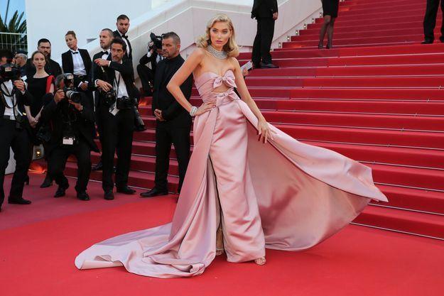 Elsa Hosk au Festival de Cannes 2018
