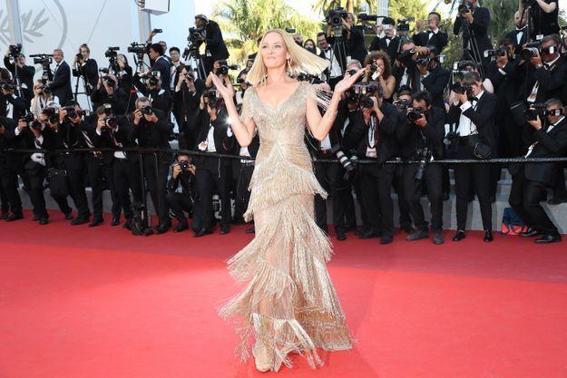 Uma Thurman au Festival de Cannes 2017