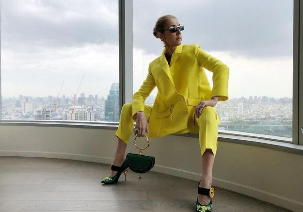 Céline Dion, à Bangkok, juillet 2018