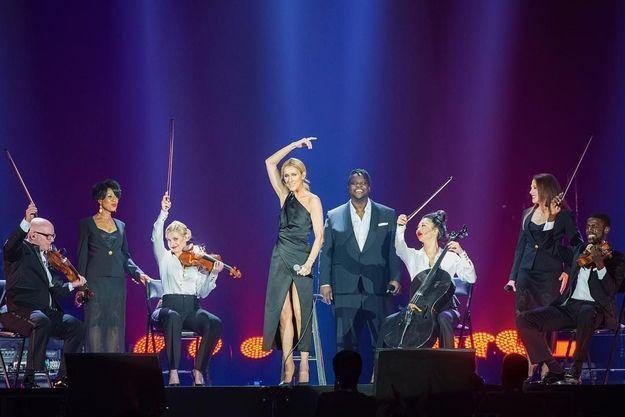 Céline Dion en concert, juillet 2018