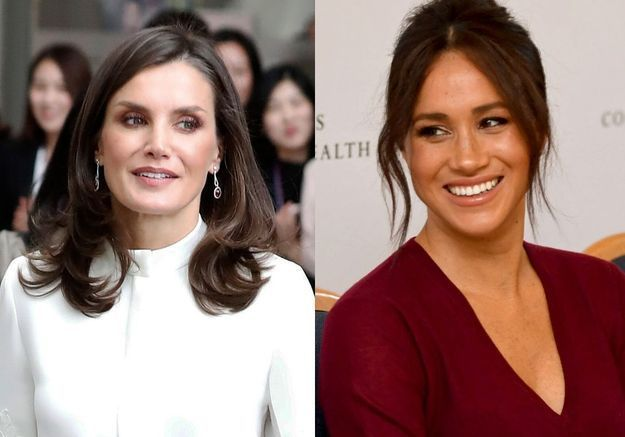 Meghan Markle et Letizia d'Espagne : elles portent l'exacte même jupe en cuir !