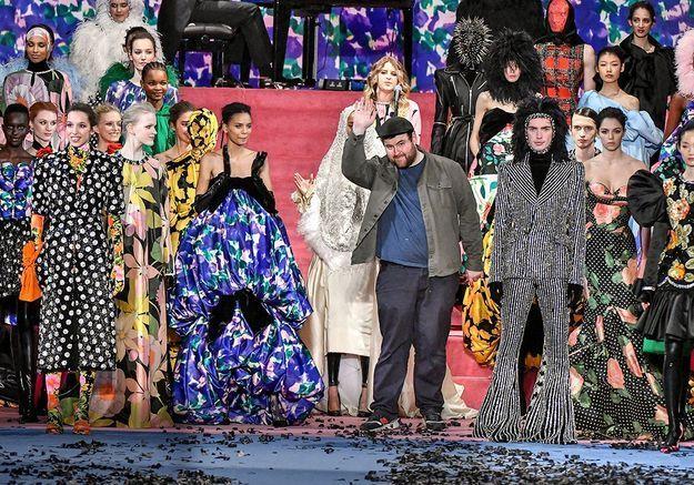 Richard Quinn : le créateur qui a fait craquer Beyoncé, Céline Dion, Amal Clooney… et la reine d'Angleterre