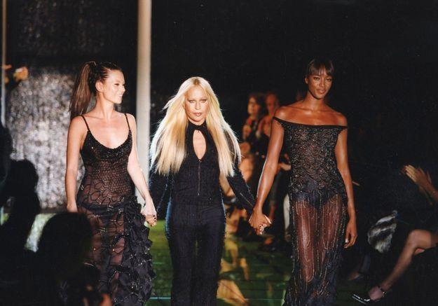 Saga mode : Donatella Versace, la force d'un destin