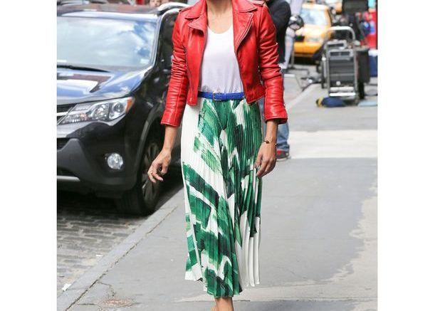 La veste colorée d'Adriana Lima
