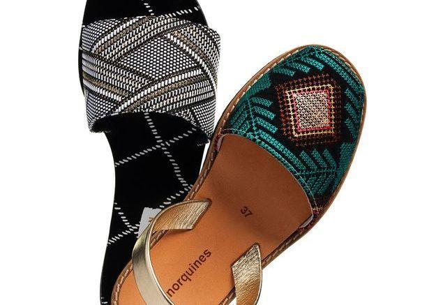 Mules et sandales mode ethnique