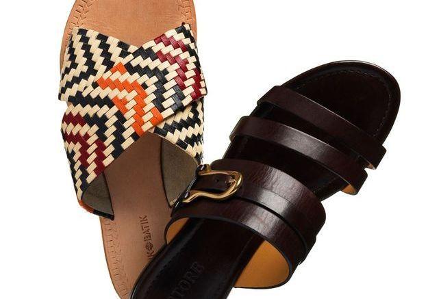 Mules mode ethnique