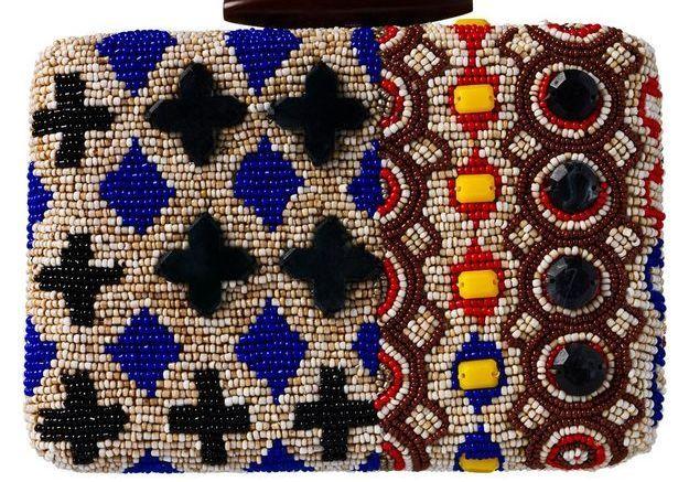 Pochette en perles mode esthnique