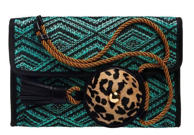 Pochette et collier mode ethnique