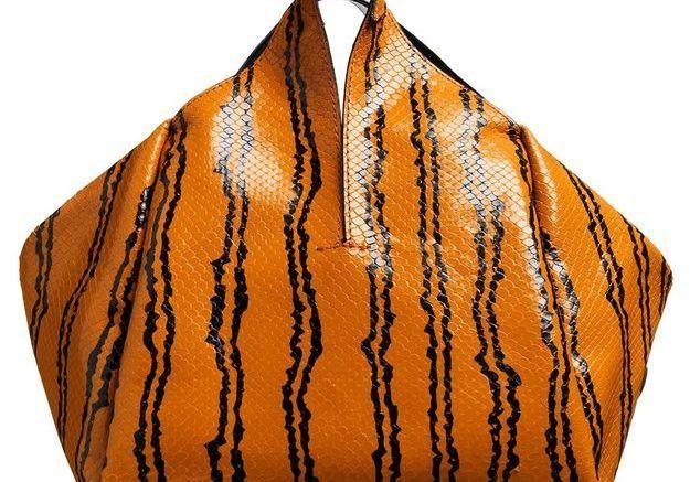 Sac en cuir Kenzo mode ethnique