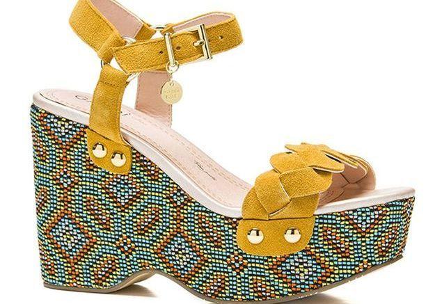 Sandales Gaudi mode ethnique