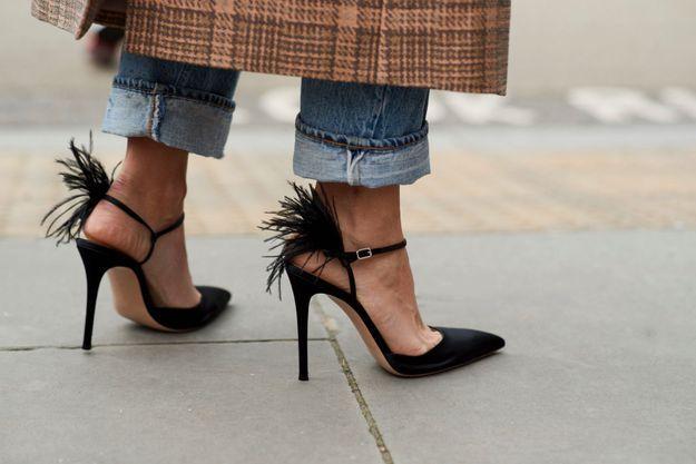 Sortir ses chaussures de soirée en journée