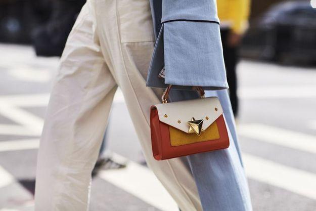 Un mini sac tricolore