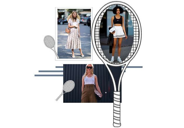 10 looks pour être chic et cool à Roland Garros