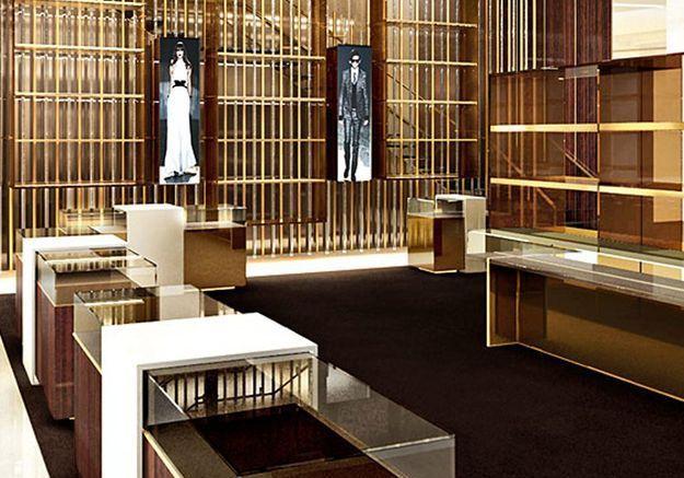 Elle revoit l'architecture intérieure des boutiques Gucci