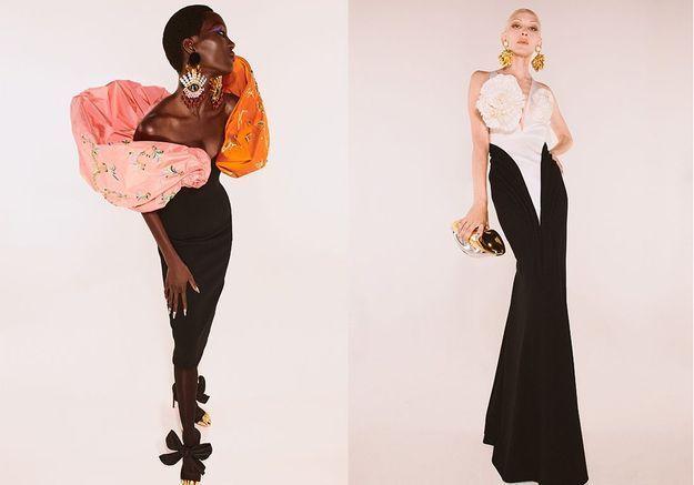 Daniel Roseberry raconte l'inspiration derrière la nouvelle collection Haute Couture de Schiaparelli
