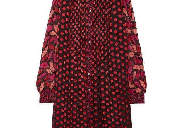 Robe chiffon, Diane von Furstenberg