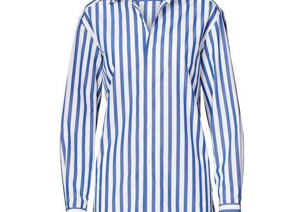 La chemise rayée