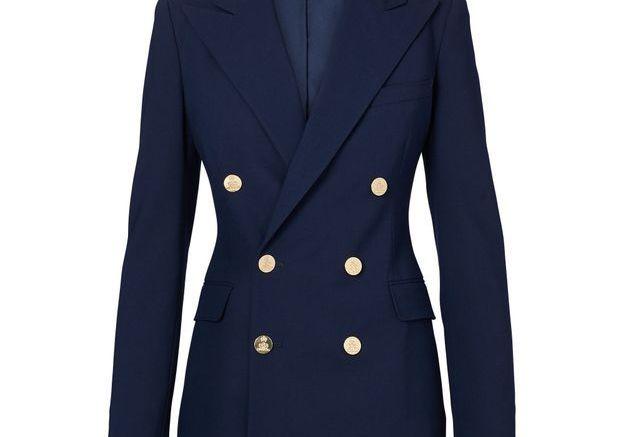 Le blazer marine
