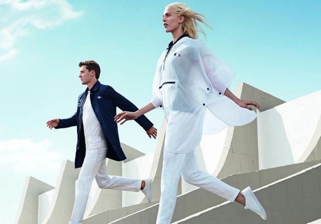 Armani, Louboutin, Lacoste… la mode s'enflamme pour les Jeux Olympiques