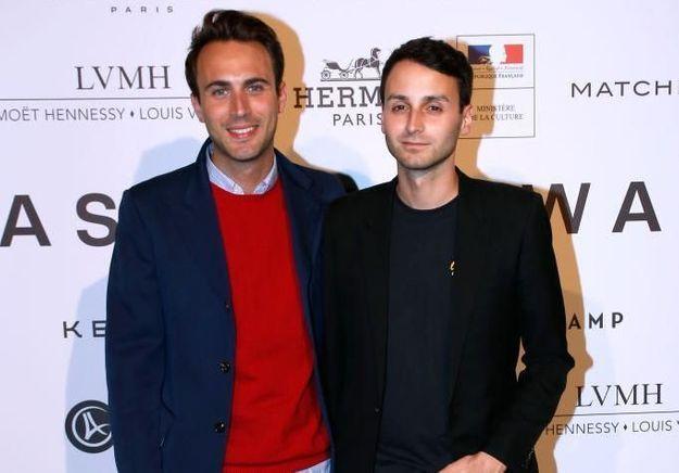 Arnaud Vaillant et Sébastien Meyer quittent Courrèges