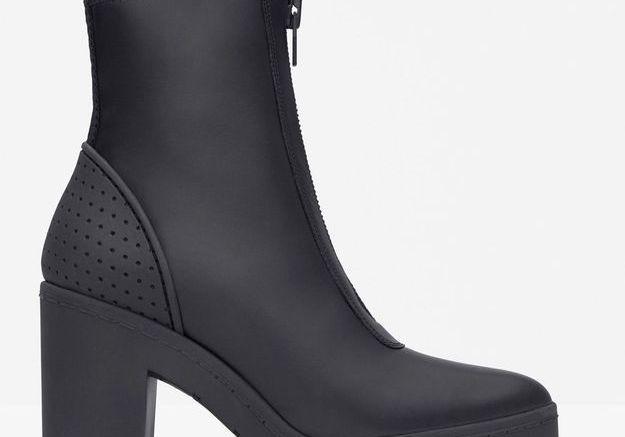 Boots en cuir Alexander Wang pour H&M