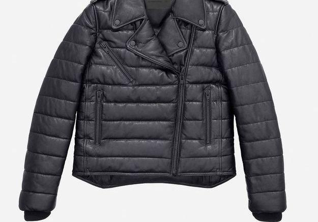 Doudoune en cuir Alexander Wang pour H&M