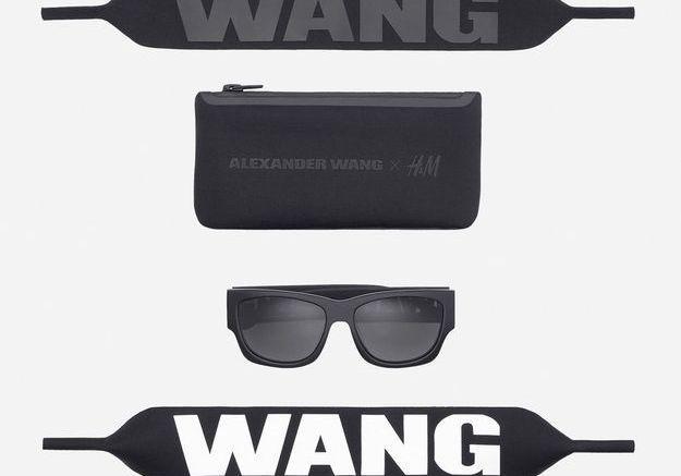 Lunettes de soleil Alexander Wang pour H&M