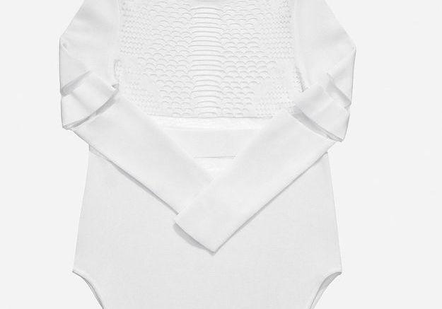 Pull blanc ajouré Alexander Wang pour H&M