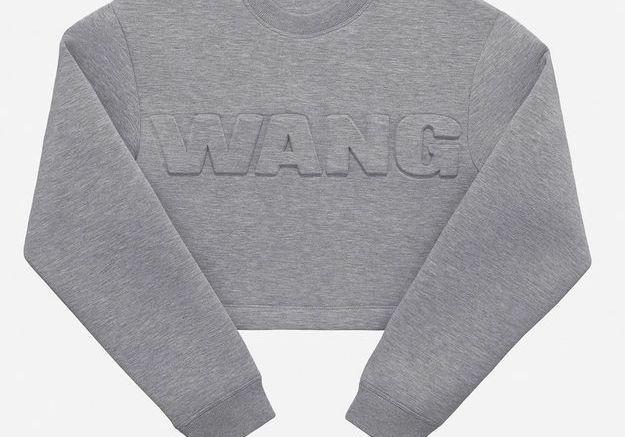 Sweat court #1 Alexander Wang pour H&M