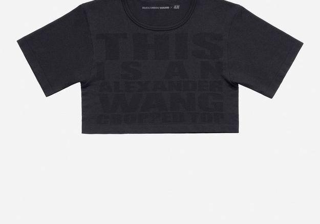 Top court noir Alexander Wang pour H&M