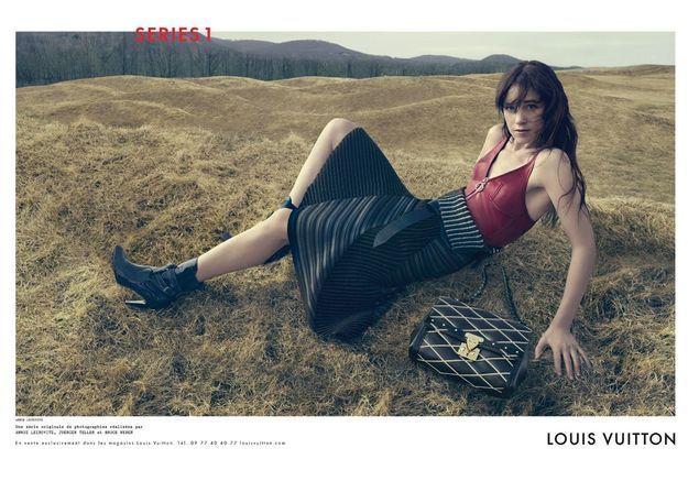 Charlotte Gainsbourg, toutes les images de sa campagne Louis Vuitton