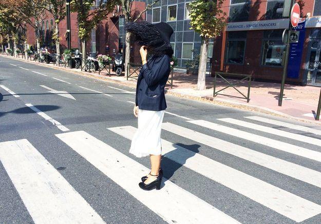 J'ai passé 24 heures avec le chapeau XXL à plumes Lanvin