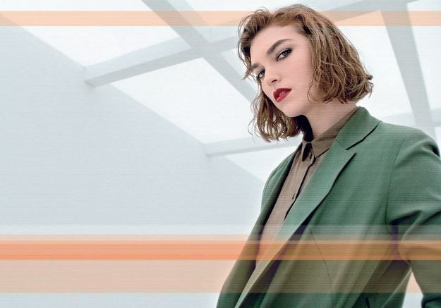 L'instant mode : les cheveux mouillés d'Arizona Muse pour Zalando