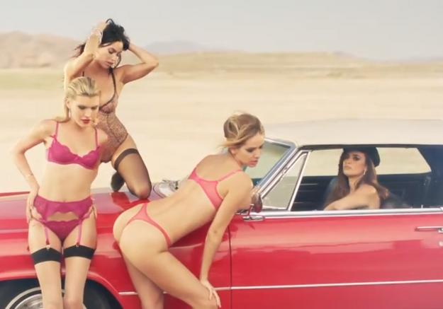 Le clip ultra sexy de Penélope Cruz pour Agent Provocateur